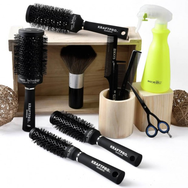 Hair Dressing Kit-Gold