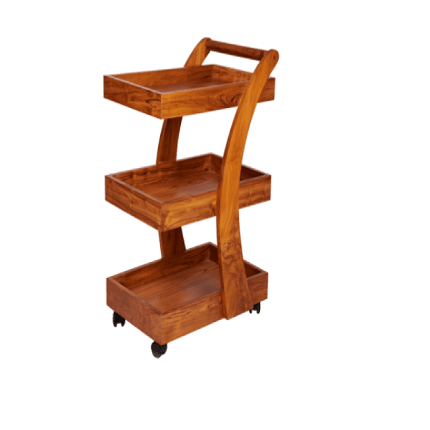 Neel Wooden Spa Trolley