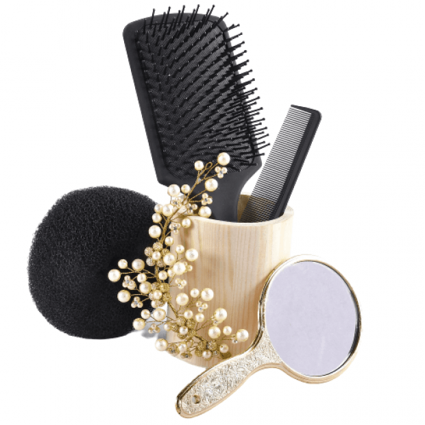 Hair Styling Kit-Silver