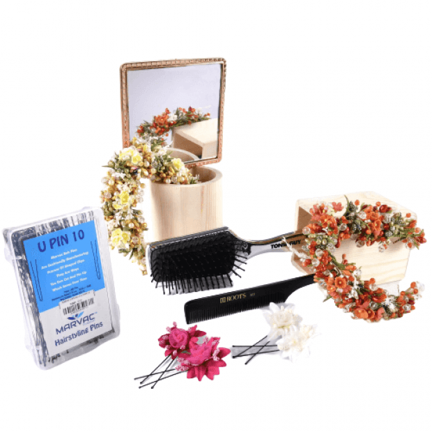 Hair Styling Kit-Gold